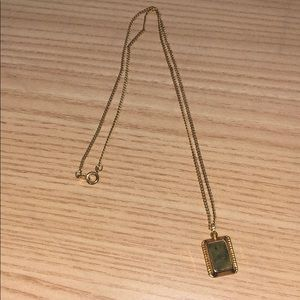 Gold necklace from Ireland